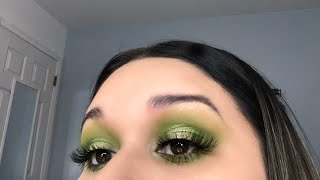 Morphe X Jeffree Star Artistry Palette//Green Vibes 💚