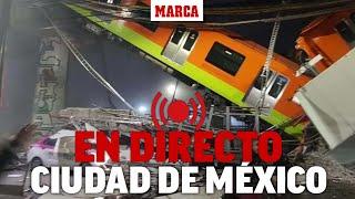 Grave accidente de metro en Ciudad de México: múltiples víctimas al caer un paso elevado I DIRECTO