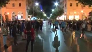 3ος Νυχτερινός Ημιμαραθώνιος Θεσσαλονίκης - TV100