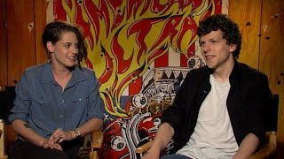 Kristen Stewart and Jesse Eisenberg On Marijuana, Awkward Interviews, and More