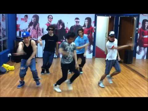 V.I.P dance practise