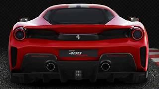 Ferrari 488 Pista Interior Exterior Drive Performance Preview