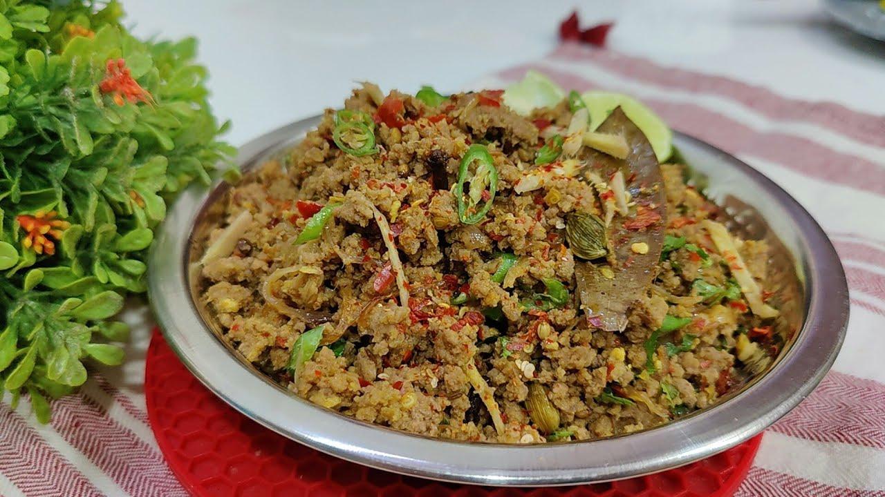 khade Masalo Se Bana Pyaazi Keema || Pyaazi Keema recipe for eid