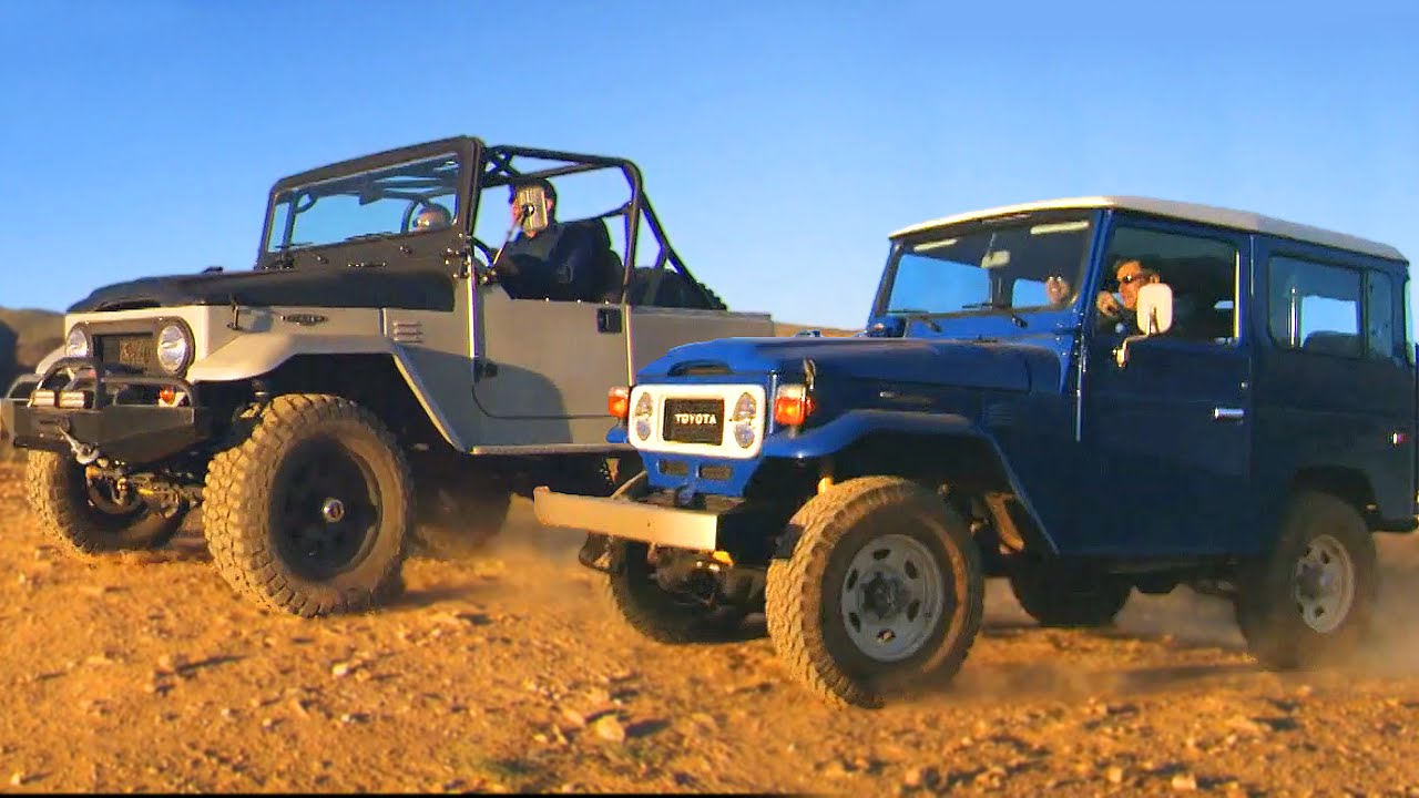 1983 toyota land cruiser fj vs icon 4x4 fj fifth gear youtube. Black Bedroom Furniture Sets. Home Design Ideas