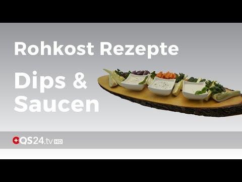 Rohkost Rezepte: Dips & Saucen