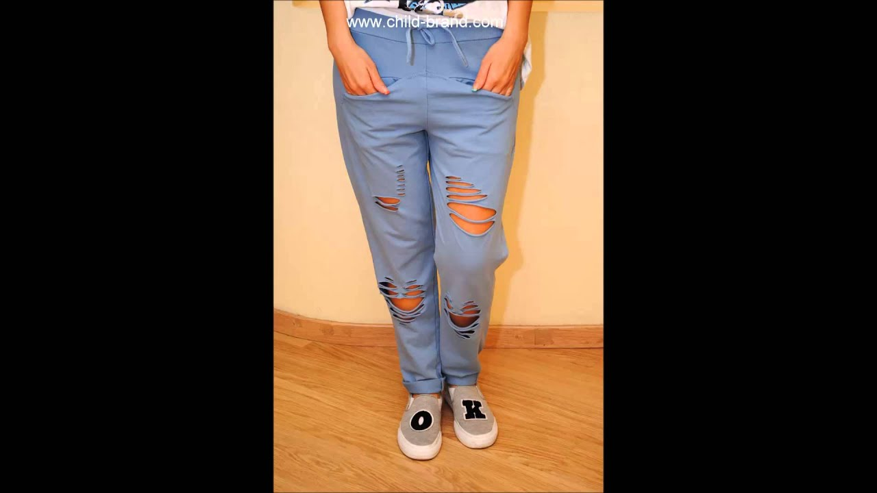 Модные джинсы 2015 - мужские и женские - YouTube