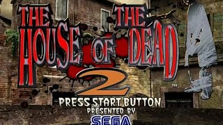 The House of the Dead 2 gameplay (PC Game, 1999)