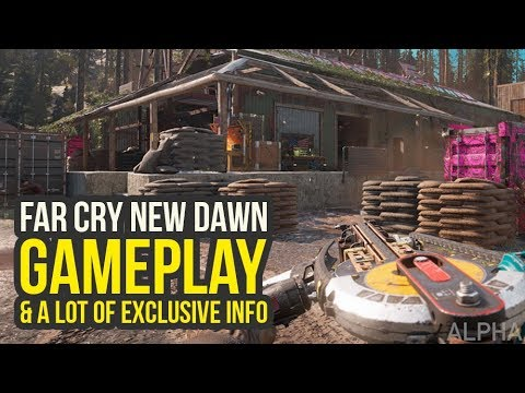 Far Cry New Dawn Gameplay & EXCLUSIVE DETAILS + Interview With Developer (Far Cry New Dawn Trailer)