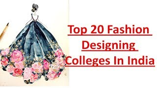 Top 20 fashion designing college in India