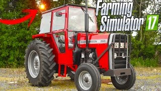 Trator Forte (MF 265 Mod Brasileiro) - Farming Simulator 2017 - BAIXEI E JOGUEI