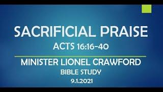 SACRIFICIAL PRAISE - ACTS 16:16-40