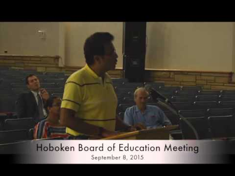 Hoboken Board of Education September 8 meeting - YouTube