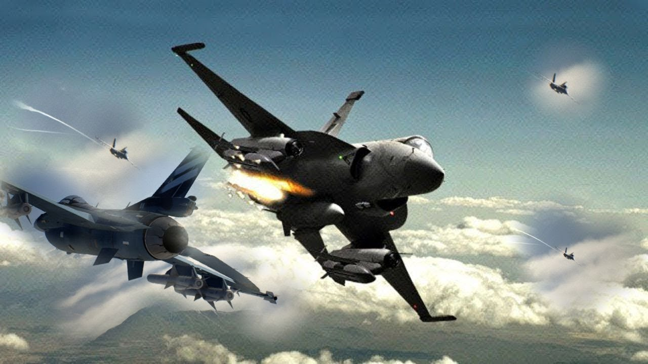 Pakistan Air Force JF-17 Thunder Air Show Competition against Other jets