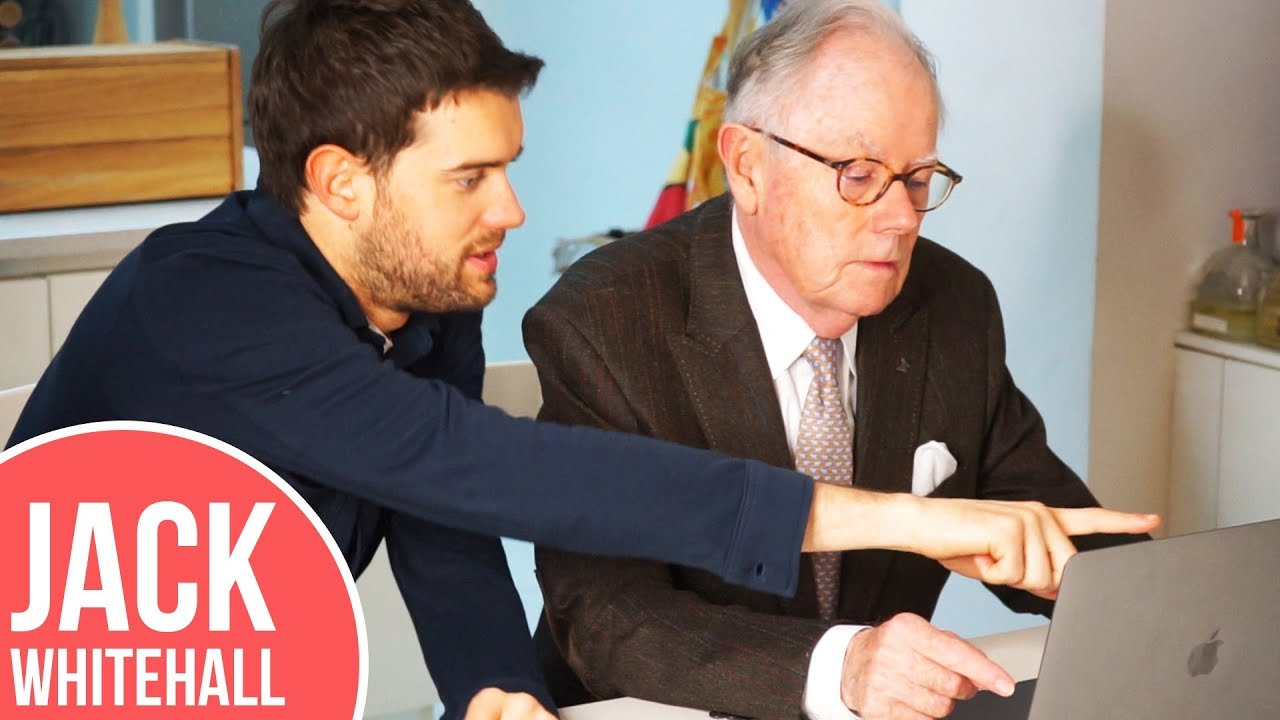 Jack Whitehall Teaches His Dad About YouTube