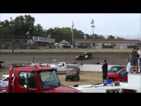 I 55 Raceway 8 8 2015 A Mod Heat Race #3 Dave Armstrong #34