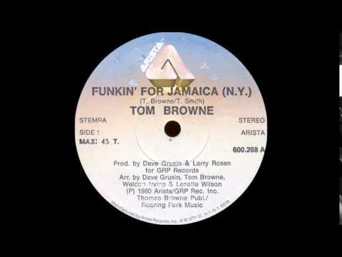 TOM BROWNE - Funkin' For Jamaica (N.Y.) [Long Version]