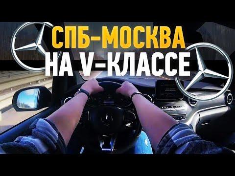 Дорога Питер-Москва на