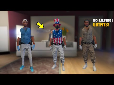 GTA 5 *EASY* VERY SIMPLE OUTFIT MERGE - NO TRANSFER NEEDED! - MODDED OUTFITS TUTORIAL