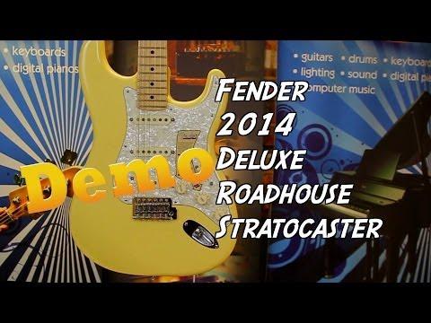 Fender 2014 Deluxe Roadhouse Strat demo with Damon | PMT