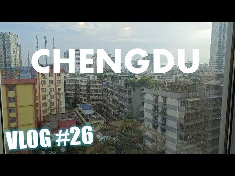SEEING WHAT ELSE CHENGDU HAS TO OFFER | OUR HOSTEL IS FALLING APART | CHINA VLOG#26