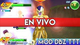 Jugando Dragon Ball Z Tenkaichi Tag Team (MOD BT3) | EN VIVO | HD | luigi2498