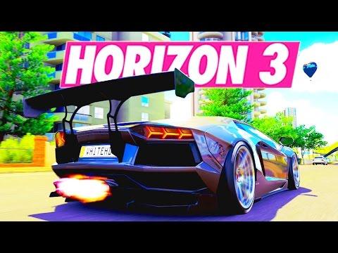 Forza Horizon 3 - LAMBORGHINI VS FERRARI #1 (TEAM LAMBORGHINI) !!