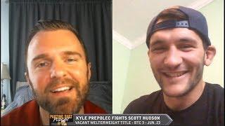Kyle Prepolec talks vacant welterweight title fight Saturday at BTC 3 against Scott Hudson