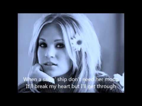 Carrie Underwood - Someday When I Stop Loving You With Lyrics