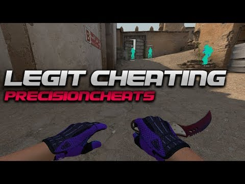 CS:GO LEGIT Hacking   (5$ CHEAT)   EASY GAME // PRECISIONCHEATS