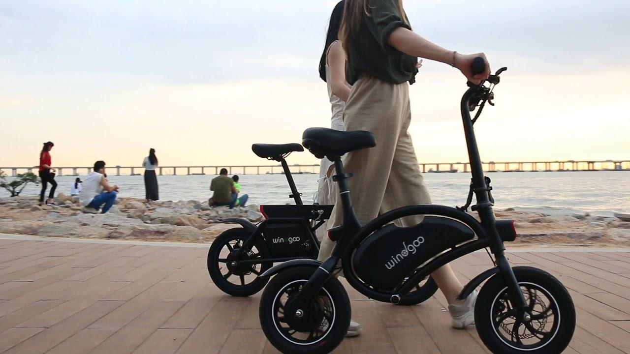 Windgoo E Bikes Model B3 And B19 First Fully Foldable Model