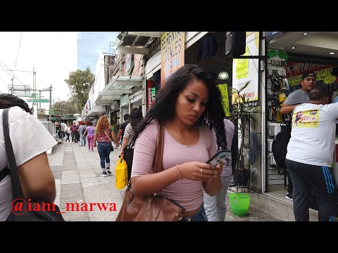 REAL STREETS of MEXICO CITY DOWNTOWN   #CDMX ( PART 2) || iam_marwa