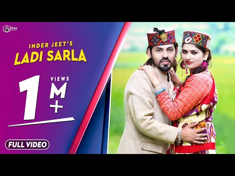 Latest Pahari DJ Song 2017 | Ladi Sarla | Inder Jeet | Official Video | Surender Negi | iSur Studios
