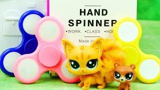 Hand Fidget Spinner & Littlest Pet Shop | Pokaz świateł | Bajki dla dzieci