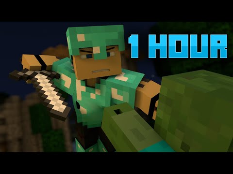 "♪ ""Warfare"" - A Minecraft Parody of Pompeii By Bastille (Music Video) [1 HOUR]"