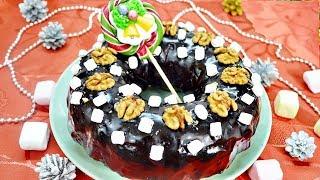 Рождественский кекс ПРОСТОЙ РЕЦЕПТ (польский кекс с маком, изюмом и орехами)