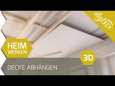 rigipsdecke videolike. Black Bedroom Furniture Sets. Home Design Ideas
