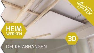 Decke abhängen - 3D