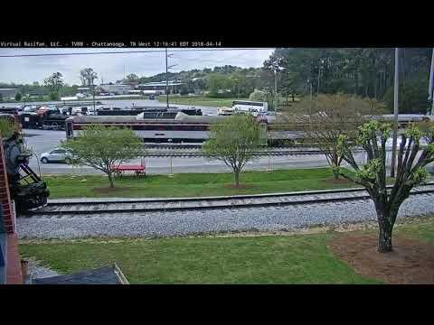 Virtual Railfan Live Chattanooga, TN Steam Train