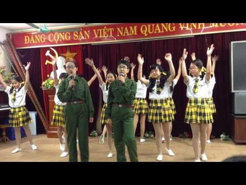 Màu áo chú bộ đội - Đội Tô Vĩnh Diện - THCS Ngô Sĩ Liên -  Hà Nội