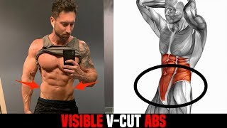 5 Lower Ab Exercises That Give You VISIBLE Lower Abs (BEGINNER TO ADVANCED!)