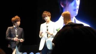 Young Saeng and Kyu Jong and Story in Thailand - Lucky draw session