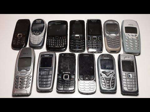 13 Ретро телефонов Nokia из Германии. Подарок под елочку ? Продажа старых телефонов