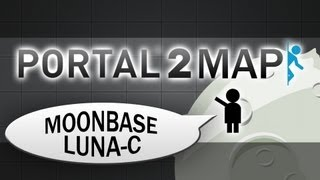 Portal 2 Community Tests #32 - Moonbase Luna-C (1/5)