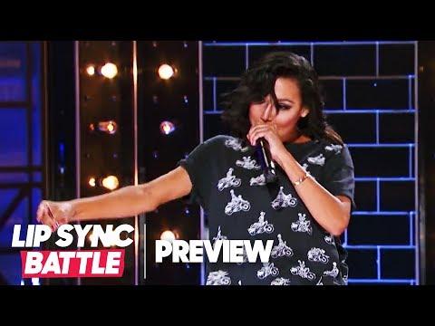 "Naya Rivera Throws Shade w Big Sean's ""I Don't F*** With You""  Lip Sync Battle P"