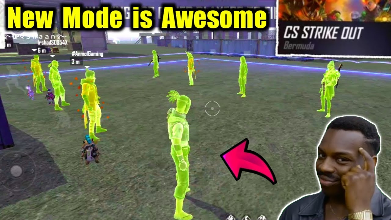 New Mode is Too Awesome😍🔥CS Strike जहर है !!