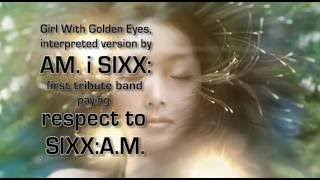 Girl With Golden Eyes single cover by AM.i SIXX: