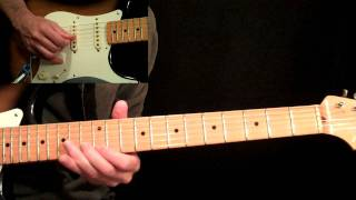 Sultans Of Swing Guitar Lesson Pt.4 - Dire Straits - Main Solo