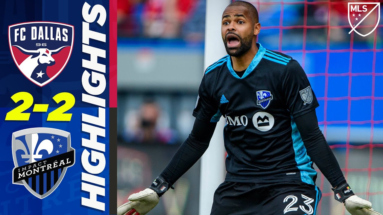 FC Dallas 2-2 Montreal Impact | Thierry Henry's Team Drops 2 Goal Lead! | MLS HIGHLIGHTS