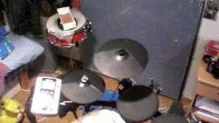Iniquity - Border Into Shadow on drums.