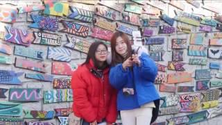 هذا الصباح-القرية الملونة بكوريا الجنوبية معرض مفتوح للفن